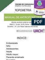 Manual Antropometrico
