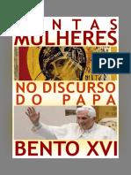 Santas Mulheres Papa Bento Xvi