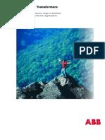 ABB Oil Distribution Transformer Catalogue.pdf