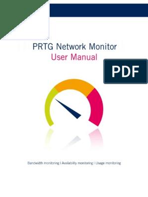 Prt g Manual | Sensor | Computer Network