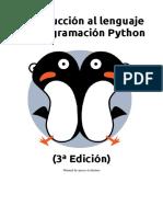 Introduccion Al Lenguaje de Programacion Python