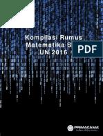Kompilasi Rumus Matematika SMP Sesuai SKL 2016