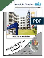 Guía de Práctica 02 (Formulación Proposiciones Lógicas)