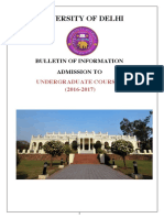 DU UG_Bulletin 2016-17