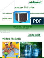Airbond Out Door Air-cooler for Petrol Station