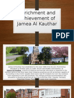 Enrichment and Achievement of Jamea Al Kauthar