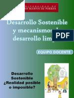 4ta Clase Desarrollo_sostenible- Mecanismos Desarrollo