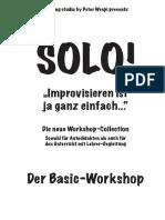 SOLO! Workshop Doku