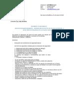 LTS_INF1600237 Ingredion Reparación de Ciclon 4 Nivel