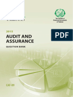 CAF9Audit AssuranceQuestionbank