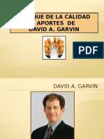 David Garvin - Los 5 puntos de la calidad .