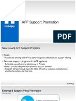 AFF Support and Refresh 100815