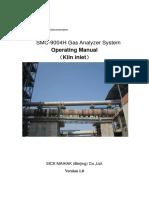 1. 7132249A.01 Analyzer System Manual V1.0 (Kiln Inlet)