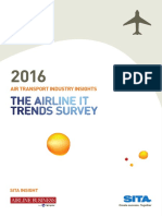 SITA Airline It Trends Survey 2016