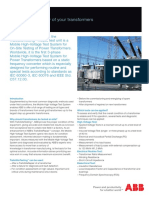 TrafoSiteTesting Technical Flyer