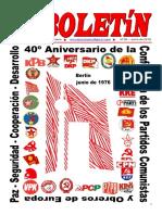 Boletin del Ateneo Paz y Socialismo de junio de 2016