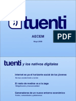 Presentación Tuenti AECEM