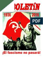 Boletin del Ateneo Paz y Socialismo de julio de 2016