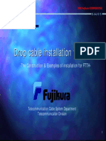 Drop Cable Installation for FTTH