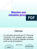 Structura Unui Calculator Personal