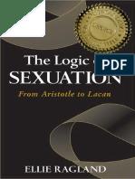 Ellie Ragland - The logic of Sexuation