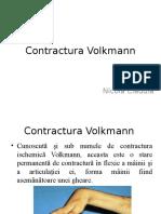 Contractura Volkmann