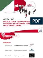 2013 02 A06 Decroissance Des Fournisseurs AMRAE