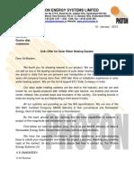 500 Lpd - Etc & Fpc - Ss304-Kv Rao, Guntur-bk