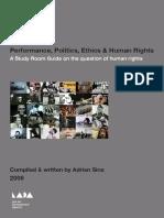 Performance, Politics, Ethics & Human Rights