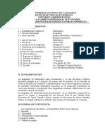 Syllabus m e I- 2011- II