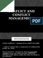 Conflict Management 3