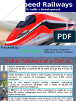PPT On High Speed Railways