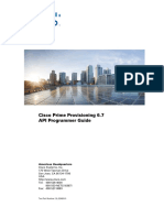 CiscoPrimeProvisioning 6 7 DeveloperGuide