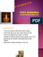 Pre Test Biokimia 2011 Kuliah Lipid i