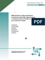 1998 Faulkner_Effectiveness of Hip Replacement