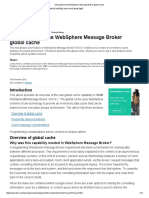 Introduction to the WebSphere Message Broker Global Cache