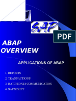 SAP ABAPQuick Overview