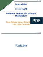 KAIZEN - Produção Enxuta