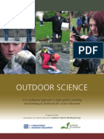 789 Ase Outdoor Science Report