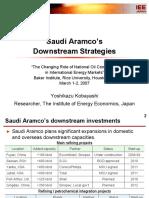 Hou Kobayashi Saudi Aramco Downstream
