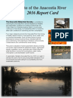 2016 Anacostia River Report Card