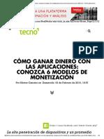 Cómo Ganar Dinero Con Las Aplicaciones_ Conozca 6 Modelos de Monetización _ Tecno.americaeconomia