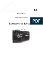 Teaching of English Language