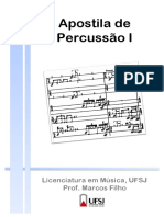 Apostila Percussao - UFSJ