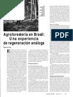 Agroforesteria en Brasil