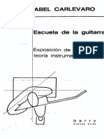 Abel Carlevaro - Escuela de La Guitarra Exposicion de La Teoria Instrumental