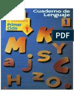1 Cuaderno de Lenguaje