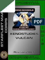 Xenostudies Vulcan Manual