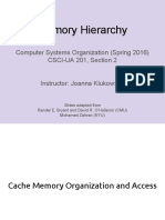 Lecture05 Memory Hierarchy Cache