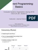Lecture09 ConcurrentProgramming 01 Basics